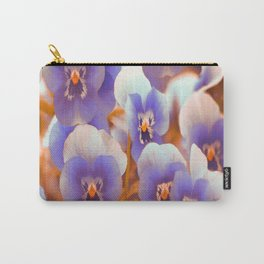 Violets in late summer Carry-All Pouch