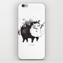 wild boar iPhone Skin