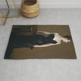 "John Singer Sargent ""Madame X (Madame Pierre Gautreau)"" Rug"