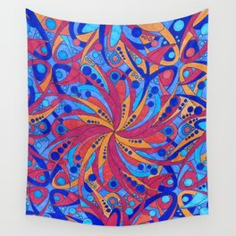 Water and wind Wall Tapestry