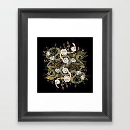 Divine Textile Framed Art Print