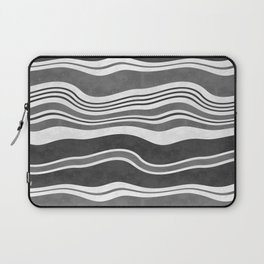 Horizontal wavy stripes.4 Laptop Sleeve