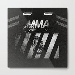 mma team wlls Metal Print