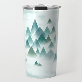 misty mountains Travel Mug