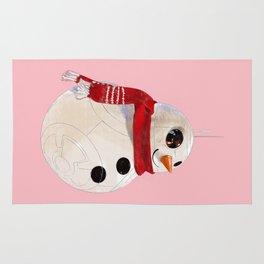Snowman BB8 Rug