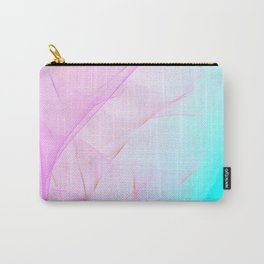 Pastel Motion Vibes - Pink & Turquoise #abstractart #homedecor Carry-All Pouch
