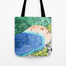 French Paradise Tote Bag