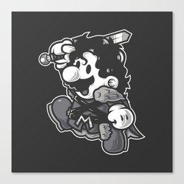 Super Jump JS Canvas Print
