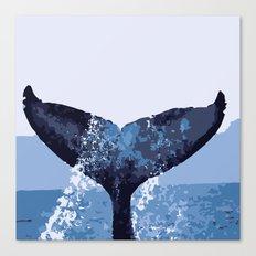 BlueWhale Canvas Print
