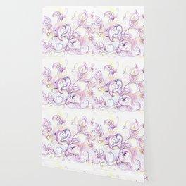 Purple calla lilies Wallpaper
