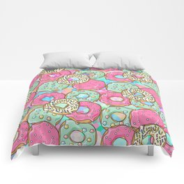 Sweet Donuts Cookies Comforters