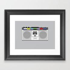 1 kHz #9 Framed Art Print