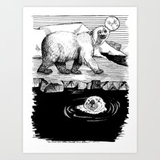 And the Otter Loved the Bear Art Print