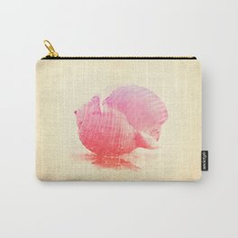 Pink Seashell Carry-All Pouch