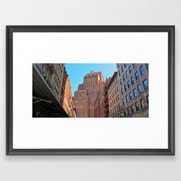 20th Century Towers Framed Art Print