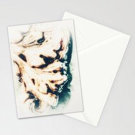 LEAF - WHITE Stationery Cards
