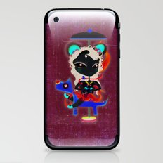 Doll  little dog carrousel and cute butterfly panda bear toy iPhone & iPod Skin