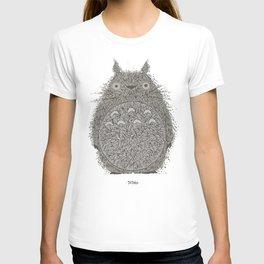 Yellow Totoro T-shirt