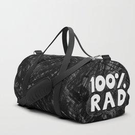 100 % RAD - Bubble Duffle Bag