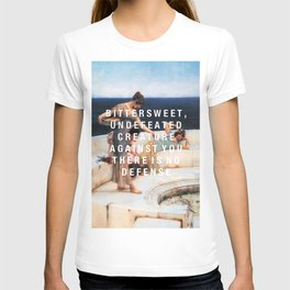 bittersweet, undefeated  T-shirt