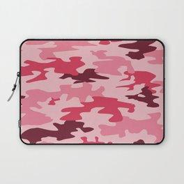 Camouflage Print Pattern - Pinks & Purples Laptop Sleeve