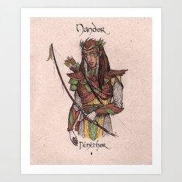 Nandor - Denethor Art Print