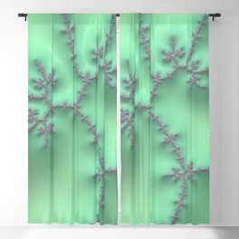 Mint and Lavender Blackout Curtain