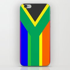 south africa country gay flag homosexual iPhone & iPod Skin
