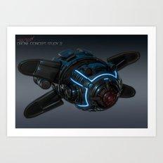 Drone Concept Study 02 Art Print