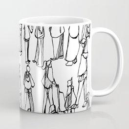 Frankfurt Layover :: Single Line Coffee Mug