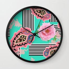 pastel symphony Wall Clock