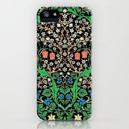 William Morris Jacobean iPhone Case
