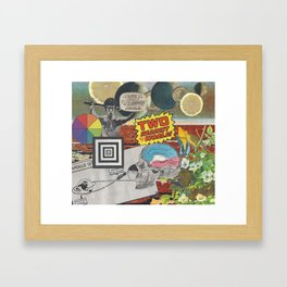 Strychnine Summertime Framed Art Print