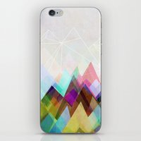mountain iPhone & iPod Skins featuring Graphic 104 by Mareike Böhmer