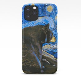 Bear Van Gogh (Painting Retouch) iPhone Case