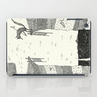 broken iPad Cases featuring 'Broken Bridge' by Alex G Griffiths