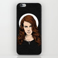 lana iPhone & iPod Skins featuring LANA. by paintparamore