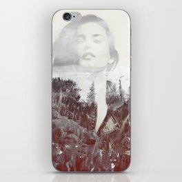 Mountain Girl iPhone Skin