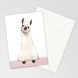 hi! Llama Stationery Cards