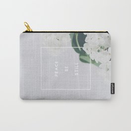 Peace, Be Still Carry-All Pouch
