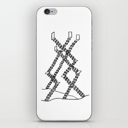Crooked Stairs iPhone Skin