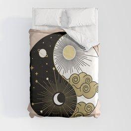 Yin and Yang Theme Comforters