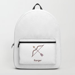 Cute Dungeons and Dragons Ranger class Backpack