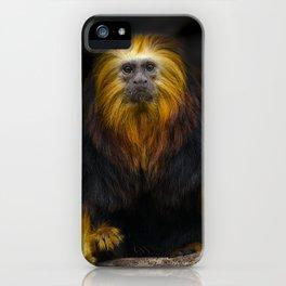 Lion Headed Tamarin iPhone Case