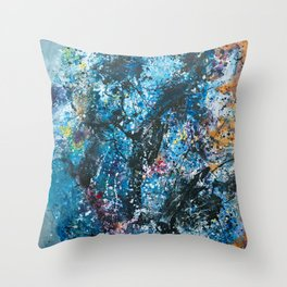 Your Universe Expanding Throw Pillow