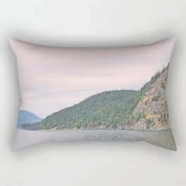 MOUNT ENTRANCE, MOUNT CONSTITUTION, AND BLAKELY ISLAND Rectangular Pillow