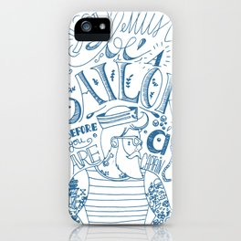 Hipster Sailor iPhone Case