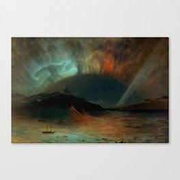 Aurora Borealis by Frederic Edwin Church Canvas Print