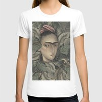frida kahlo T-shirts featuring Frida Kahlo by Antonio Lorente