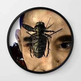 Fly: Get Out Of Here! Wall Clock